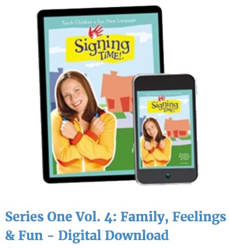 Signing Time Series One Volume 4 Digital